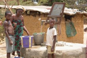 Water Point In Sierra Leone (Skat 2013)