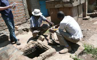 Groundwater Sampling, Kisumu,Kenya