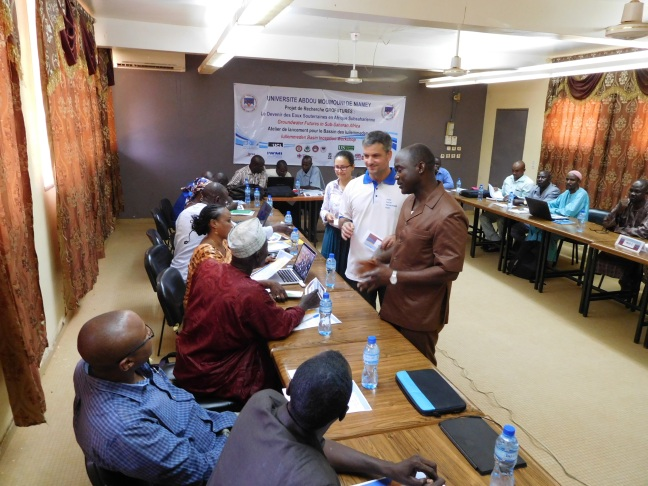 GroFutures Serious Groundwater Game in Niger (photo: IGRAC 2016)