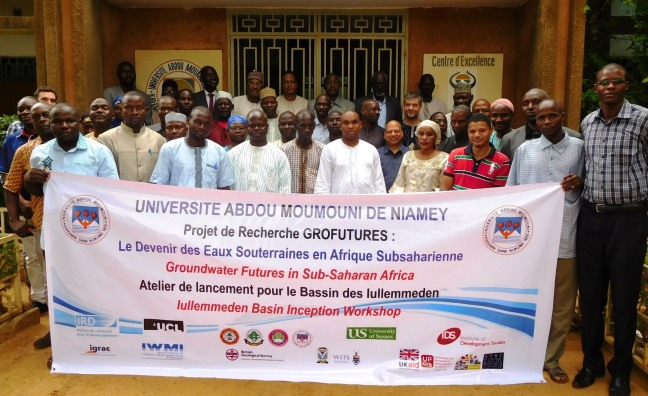Iullemmeden Basin Inception Workshop held on August 23, 2016 at Abdou Moumouni University in Niamey, Niger (photo: GroFutures, 2016)