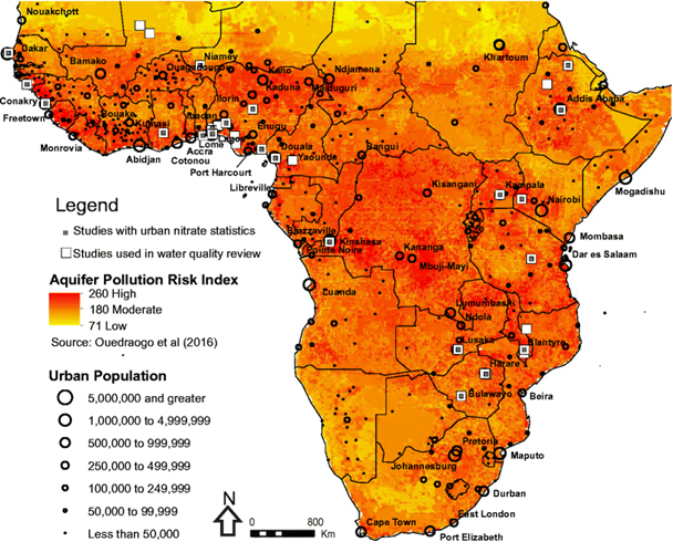 New pollution risk maps for Africa to help with achieving safe