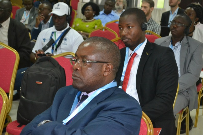 Delegates keenly following the Groundwater Thursday event at the AWW.JPG